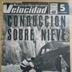 Coches: REVISTA GRÁFICA DEL MOTOR VELOCIDAD - Nº 328 DICIEMBRE 1967. Lote 293929893