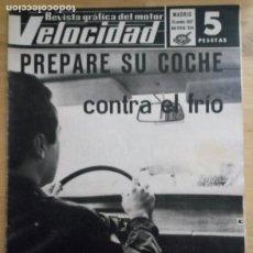 Coches: REVISTA GRÁFICA DEL MOTOR VELOCIDAD - Nº 324 NOVIEMBRE 1967. Lote 293929943