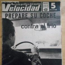 Coches: REVISTA GRÁFICA DEL MOTOR VELOCIDAD - Nº 324 NOVIEMBRE 1967. Lote 293929953