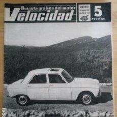 Coches: REVISTA GRÁFICA DEL MOTOR VELOCIDAD - Nº 316 SEPTIEMBRE 1967. Lote 293930298