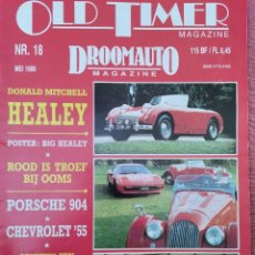Coches: 1988 REVISTA OLD TIMER - AUSTIN HEALEY - PORSCHE 904 - CHEVROLET 55. Lote 294867293