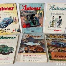 Coches: REVISTA DE COCHE THE AUTOCAR AÑOS 50. Lote 294952253