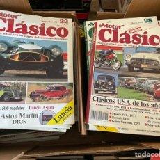 Coches: REVISTA MOTOR CLASICO AÑOS 80 Y 90. Lote 294961983
