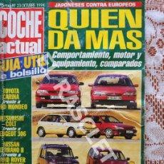 Coches: ANTIGÜA REVISTA COCHE ACTUAL - Nº 23 - 1994. Lote 295333863