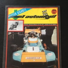 Coches: EL AUTOMOVIL RACING Nº 29 DE 1971 - FORMULA 1 F1 GP CANADA AUTHI MG-S ANGEL NIETO GP ESPAÑA RALLY. Lote 295414613
