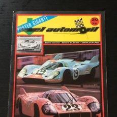 Coches: EL AUTOMOVIL RACING Nº 25 DE 1971 - MUNDIAL DE MARCAS 6 HORAS WATKINS GLEN RENAULT 15 17 NIETO. Lote 295415438