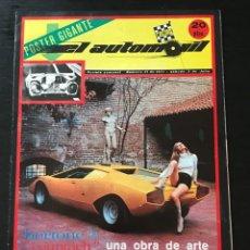 Coches: EL AUTOMOVIL RACING Nº 21 DE 1971 - 1000 KM AUSTRIA LAMBORGHINI COUNTACH LP 50 BERTONE FORMULA COPA. Lote 295416663