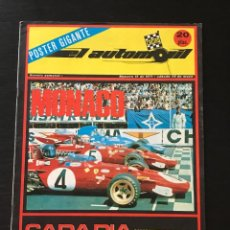 Coches: EL AUTOMOVIL RACING Nº 16 DE 1971 - FORMULA 1 F1 MONACO SUBIDA MONTSENY MOTOCROSS ALFA ROMEO SPORT. Lote 295417793