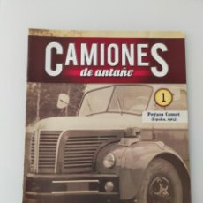Auto: FASCÍCULO 1 PEGASO COMET 1963 CAMIONES DE ANTAÑO ALTAYA NUEVO. Lote 295613568
