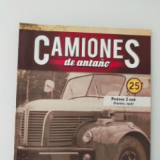 Auto: FASCÍCULO 25 PEGASO Z-206 1956 CAMIONES DE ANTAÑO ALTAYA NUEVO. Lote 295624193
