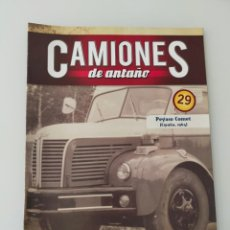 Auto: FASCÍCULO 29 PEGASO COMET 1964 CAMIONES DE ANTAÑO ALTAYA NUEVO. Lote 295627368