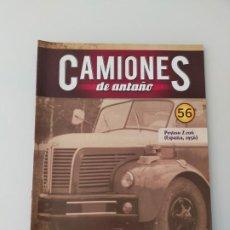 Auto: FASCÍCULO 56 PEGASO Z-206 1959 CAMIONES DE ANTAÑO ALTAYA NUEVO. Lote 295638238
