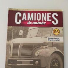 Auto: FASCÍCULO 66 PEGASO COMET 1964 CAMIONES DE ANTAÑO ALTAYA NUEVO. Lote 295638678