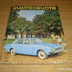 Coches: QUATTRORUOTE - OCTUBRE 1963 Nº 94. Lote 295832618