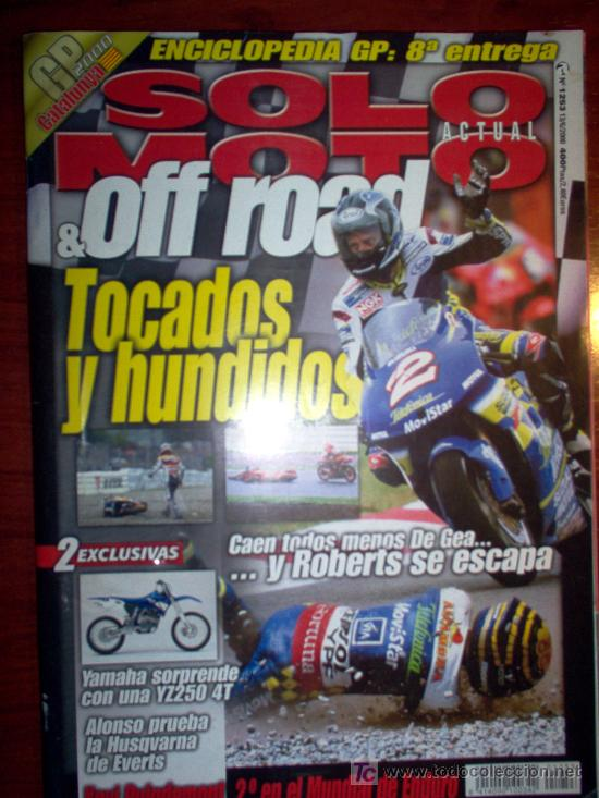 REVISTA SOLO MOTO ACTUAL & OFF ROAD - JUNIO 2000 - Nº 1253 (Coches y Motocicletas - Revistas de Motos y Motocicletas)