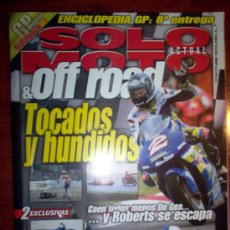 Coches y Motocicletas: REVISTA SOLO MOTO ACTUAL & OFF ROAD - JUNIO 2000 - Nº 1253. Lote 4446986