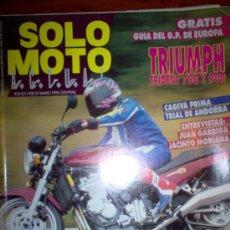 Coches y Motocicletas: REVISTA SOLO MOTO ACTUAL - MAYO 1992 - Nº 835. Lote 4446996