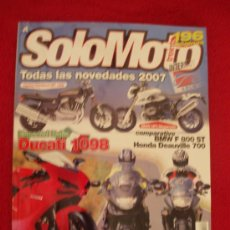 Coches y Motocicletas: SOLOMOTO30 Nº 286 (NOV-06). Lote 6129739