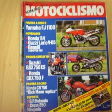 Coches y Motocicletas: REVISTA MOTOCICLISMO EXTRA NUMERO 859 7 JULIO 1984. Lote 6712529