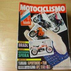 Coches y Motocicletas: REVISTA MOTOCICLISMO NUMERO 1219 4 JULIO 1991. Lote 7354674