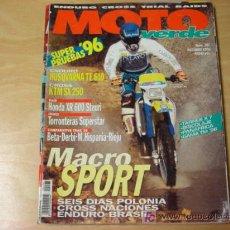 Coches y Motocicletas: REVISTA MOTO VERDE 207 OCTUBRE 1995. Lote 7444332