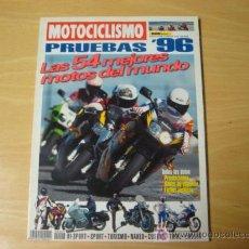 Coches y Motocicletas: REVISTA MOTOCICLISMO PRUEBAS 1996 EDICION FUERA DE SERIE. Lote 75183051