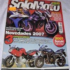 Coches y Motocicletas: SOLO MOTO 30. NÚMERO 284. (OCTUBRE-2006)-NOVEDADES 2007- A ESTRENAR. Lote 20881142