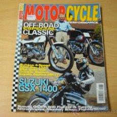 Coches y Motocicletas: REVISTA MOTOR CYCLE PERFORMANCE NUMERO 34 OCTUBRE 2001 MOTOCICLISMO. Lote 7961331