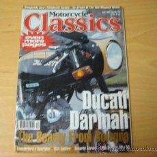 Coches y Motocicletas: REVISTA MOTORCYCLE CLASSICS APRIL 1998 EN INGLES. Lote 7973715