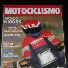 Coches y Motocicletas - MOTOCICLISMO Nº 1154 - ABRIL 1990 - BMW K 100 RS / BIMOTA TESI / CAGIVA FRECCIA - 14055328