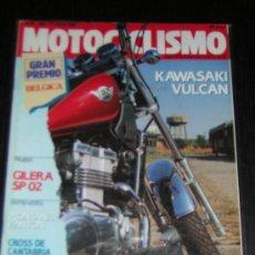 Coches y Motocicletas - MOTOCICLISMO Nº 1168 - JULIO 1990 - KAWASAKI VULCAN / GILERA SP 02 - 57087880