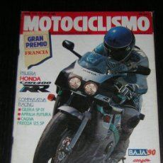 Coches y Motocicletas - MOTOCICLISMO Nº 1170 - JULIO 1990 - HONDA CBR 400 RR / GILERA SP 01 / APRLIA FUTURA / CAGIVA FRECCIA - 14823076