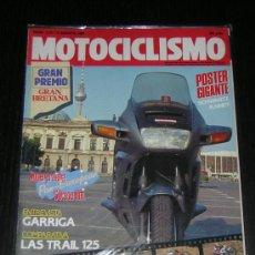 Coches y Motocicletas - MOTOCICLISMO Nº 1172 - AGOSTO 1990 - HONDA PANEUROPEAN / JOAN GARRIGA / TRAIL 125 / HONDA / APRILIA - 10253827
