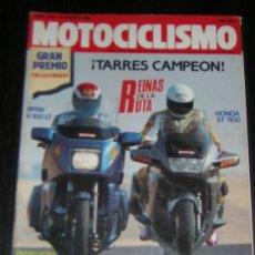 Coches y Motocicletas: MOTOCICLISMO Nº 1175 - AGOSTO 1990 - HONDA ST 1100 PANEUROPEAN / BMW K 100 LT. Lote 10253828