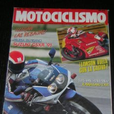 Coches y Motocicletas: MOTOCICLISMO Nº 1184 - NOVIEMBRE 1990 - SUZUKI GSX R / KAWASAKI ZXR / SUPERCROSS MADRID. Lote 14960962