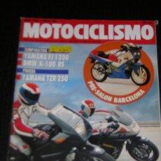 Coches y Motocicletas: MOTOCICLISMO Nº 1210 - MAYO 1991 - YAMAHA FJ 1200 / BMW K 100 RS / YAMAHA TZR 250. Lote 15070716