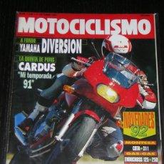 Coches y Motocicletas: MOTOCICLISMO Nº 1236 - OCTUBRE 1991 - YAMAHA DIVERSION / MONTESA COTA 311 / GUZZI 1000 DAYTONA. Lote 14784951
