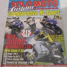 Coches y Motocicletas: SOLO MOTO 30 NÚMERO 208. JUNIO 2000. . Lote 20726778
