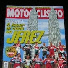 Coches y Motocicletas: MOTOCICLISMO Nº 1523 - ABR 1997 - BMW K 1200 RS / HONDA CBR 1100 XX / KTM 620 EGS-E / GP JEREZ. Lote 9425758