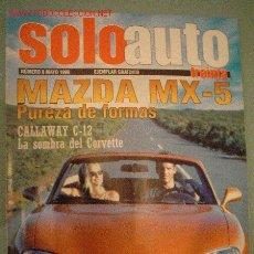 Coches y Motocicletas: SOLOAUTO Nº 8 (05-98). Lote 2098379