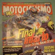 Coches y Motocicletas: MOTOCICLISMO Nº 1705 (10-00). Lote 3604890