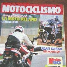 Coches y Motocicletas: MOTOCICLISMO Nº 1141 - SUZUKI GSX 1100 R - PARIS DAKAR - CICLOMOTORES. Lote 31403035