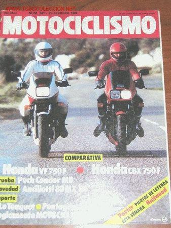 MOTOCICLISMO Nº 841 - FEBRERO 1984 (Coches y Motocicletas - Revistas de Motos y Motocicletas)