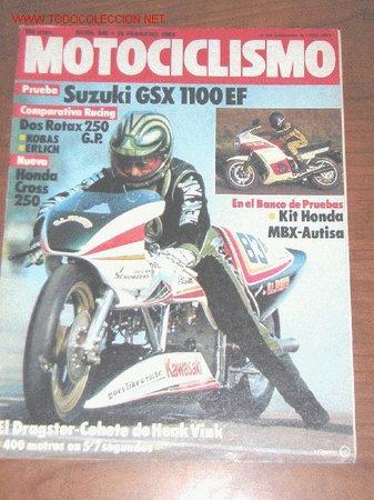 MOTOCICLISMO Nº 840 - FEBRERO 1984 (Coches y Motocicletas - Revistas de Motos y Motocicletas)