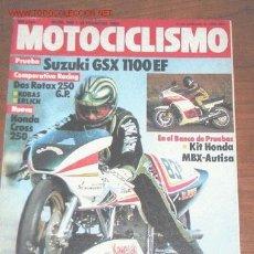Coches y Motocicletas: MOTOCICLISMO Nº 840 - FEBRERO 1984. Lote 17965267