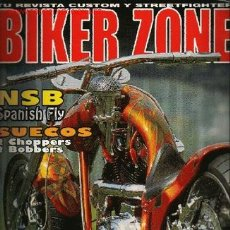 Voitures et Motocyclettes: BIKER ZONE Nº 124 ( ESPAÑOL).NSB SPANISH FLY. USA PITBULL. MOTORCYCLES. MILWAUKEE/ ACEDAY/ STURGI. Lote 214719656