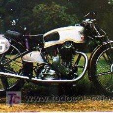 Coches y Motocicletas: FOTO DE UNA MOTOCICLETA ANTIGUA, TERROT. Lote 3024055