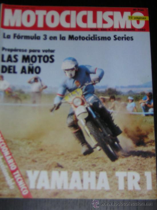 MOTOCICLISMO Nº 685 - DICIEMBRE 1980 - YAMAHA TR1 / SITO PONS (Coches y Motocicletas - Revistas de Motos y Motocicletas)