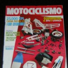 Carros e motociclos: MOTOCICLISMO Nº 1174 - AGO 1990 - CAGIVA FRECCIA C12 / YAMAHA ACTIVE 80 / JORDI TARRES. Lote 20416535