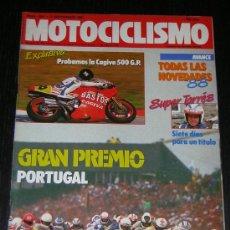 Coches y Motocicletas: MOTOCICLISMO Nº 1021 - SEP 1987 - CAGIVA V 587 RACING / JORDI TARRES / GP PORTUGAL. Lote 17146505